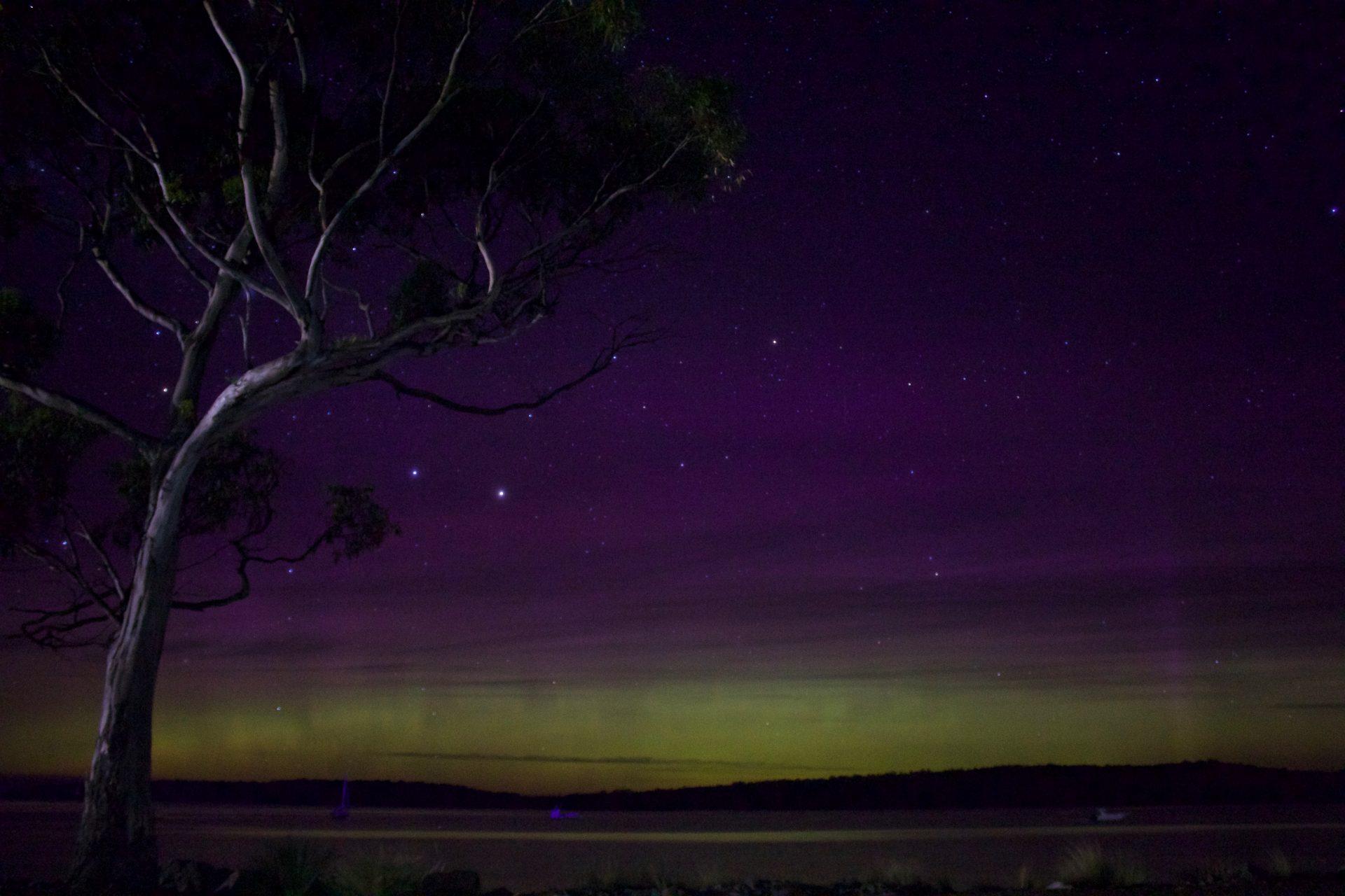 Aurora Australis - Tasmania, 2015