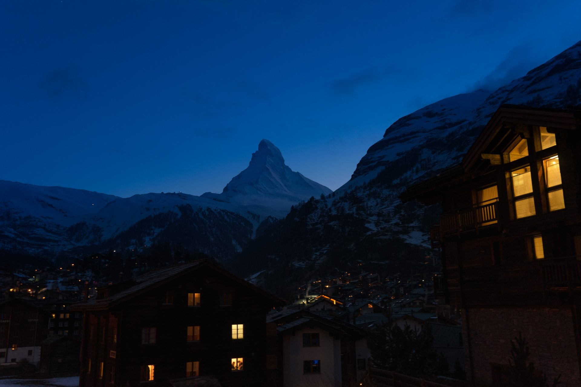 Matterhorn at Night – Switzerland