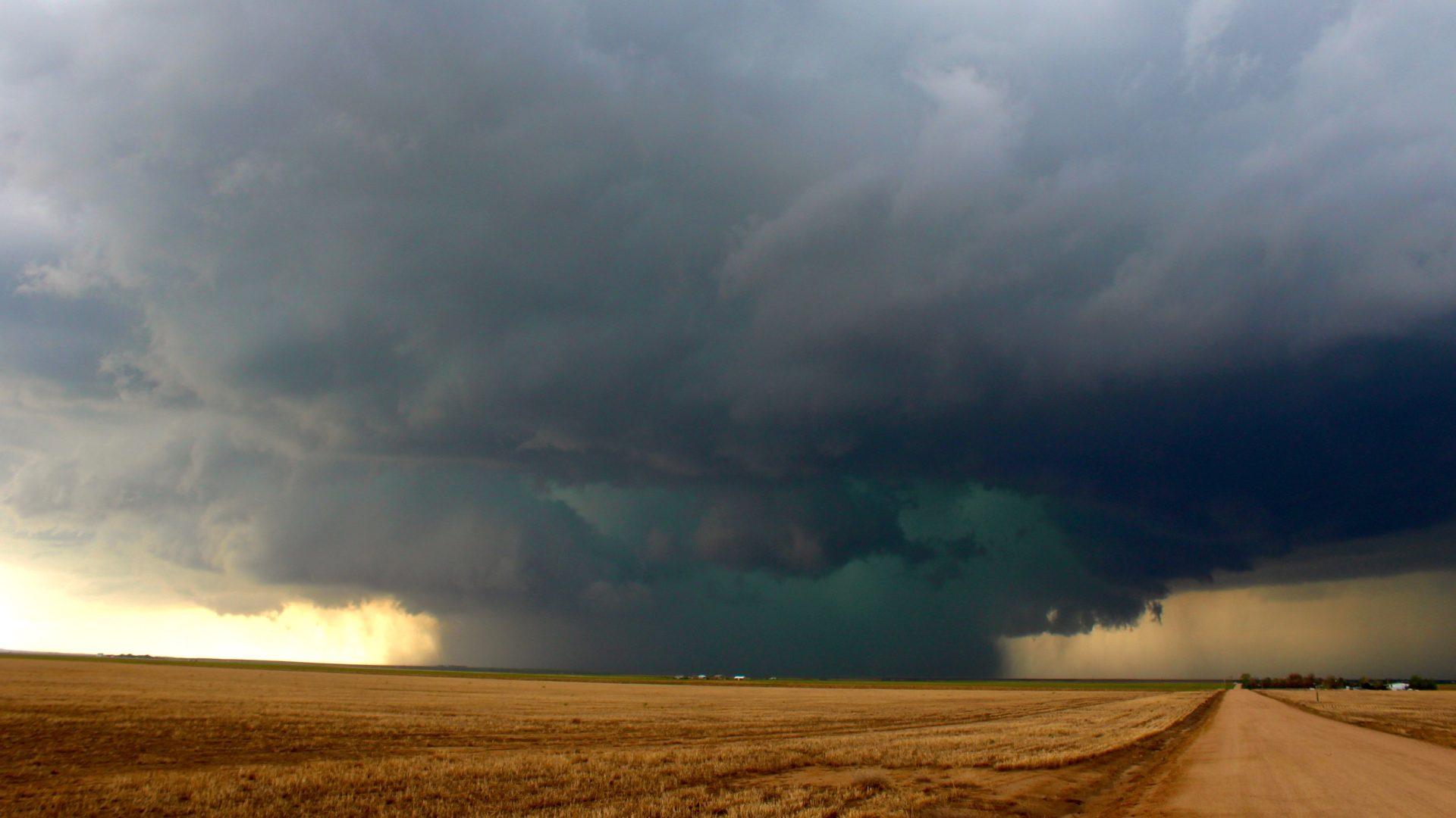 Rain-Wrapped Tornado. May 21, 2014