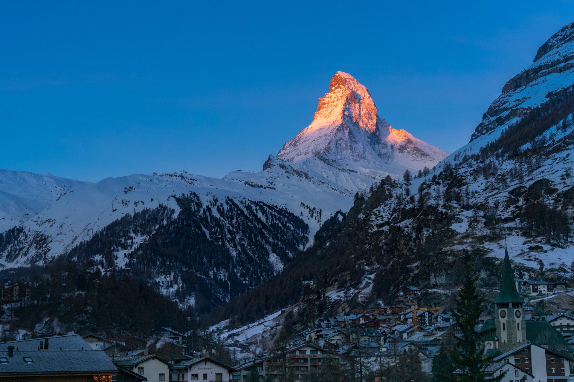 Matterhorn at Sunrise –Switzerland